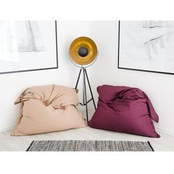 Pufa do siedzenia z powłoczką wewnętrzną 140 x 180 cm fioletowa