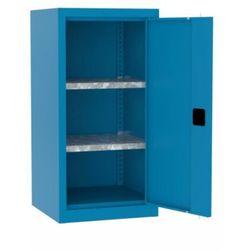 Metalowa szafka warsztatowa SMD515/1 z dwoma polkami niska 100cm