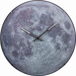 Zegar ścienny Blue Moon Dome by Nextime, 3164