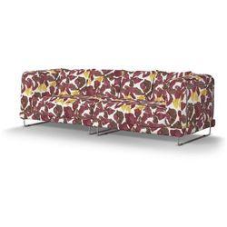 pokrowiec na sofę tylösand 3-osobową nierozkładaną, żółto-brązowe kwiaty, sofa tylösand 3-osobowa nierozkładana, wyprzedaż do -30% marki Dekoria
