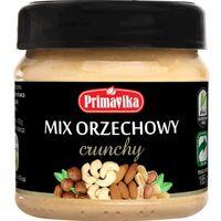 Mix Orzechowy Crunchy 185g Primavika Mix Maseł