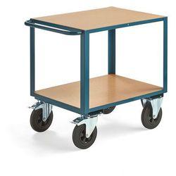 Aj produkty Wózek warsztatowy, z hamulcem, 2 koła skrętne, 600 kg, 800x600 mm