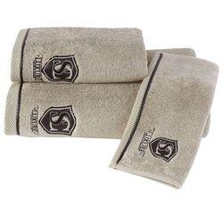 Soft cotton Ręcznik luxury 50x100 cm beżowy