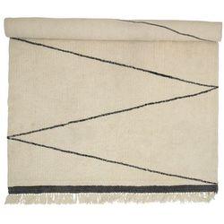 Bloomingville dywan wełniany L