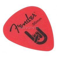 rock on 0.50 red kostka gitarowa marki Fender