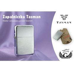 Zapalniczka Tasman Brushed Chrome z kategorii Papierośnice i pudełka na cygara