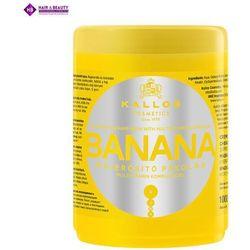 KALLOS Maska Do Włosów Bananowa 1000 ml ze sklepu Vanity