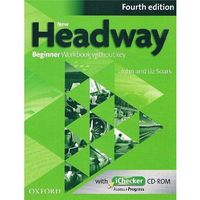 New Headway 4e Beginner Workbook Without Key & Ichecker CD-rom Pack, oprawa miękka