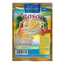 Zupka rosół drobiowy z makaronem bezglutenowy 20g Bezgluten - produkt z kategorii- Zdrowa żywność
