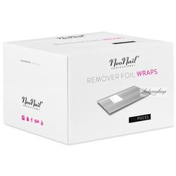 - remover foil wraps - folie do usuwania żelu, akrylu i lakieru hybrydowego - 100 sztuk - 4458 od producenta