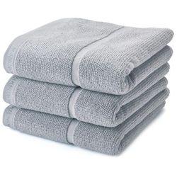 Aquanova Ręcznik adagio silver grey 30x50 cm