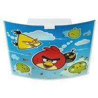 Dalber Klik 80886 - oprawa sufitowa dziecięca angry birds 2xe27/60w
