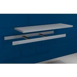 Hofe Dodatkowa półka w komplecie z trawersami i półką stalową,szer. 1500 mm