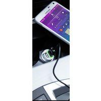 Ładowarka PURO samochodowa 2 x USB (FCMCH2USB24WHI) Darmowy odbiór w 21 miastach!, FCMCH2USB24WHI