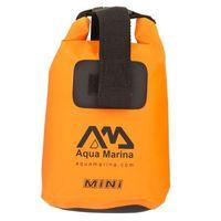 Wodoodporna torba  mini dry bag - kolor pomarańczowy marki Aqua marina