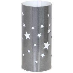 Lampka oprawa stołowa Aldex Gwiazdy 1x40W E14 srebrna 710B/3 (5904798627317)