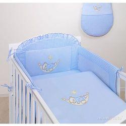 MAMO-TATO pościel 3-el Śpioch w hamaku w błękicie do łóżeczka 70x140cm z kategorii Komplety pościeli dla dzieci