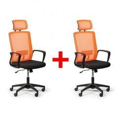 Krzesło biurowe base plus 1+1 gratis, pomarańczowy marki B2b partner