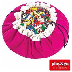 Play&go  worek na zabawki/mata do zabawy - fuchsia (5901121400029)