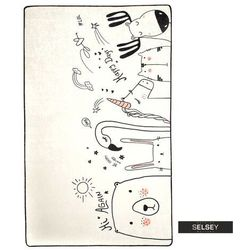 Selsey dywan do pokoju dziecięcego dinkley be happy 140x190 cm (5903025555164)