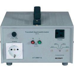 Tranformator zwiększający napięcie Voltcraft AT-1500 NV, 115/125/230/240 V/AC, 1500W z kategorii Transforma