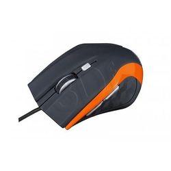 Modecom Przewodowa mysz optyczna m5 black orange (5906190442802)
