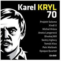 Karel kryl - 70 koncert cd+dvd  marki Kryl karel
