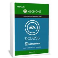 Xbox One EA Access 12 miesięcy subskrypcja