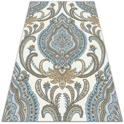 Dywan na taras zewnętrzny dywan na taras zewnętrzny tekstura paisley marki Dywanomat.pl
