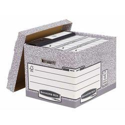 Fellowes bankers box system z fsc pudło na archiwa ze zdejmowanym wiekiem fastfold, op. 10 szt. (00810-ffeu) darmowy odbiór w 21 miastach! (5016291008101)