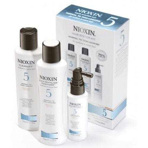Nioxin System 5 - Zestaw do włosów przerzedzonych, zniszczonych, grubych - sprawdź w Estyl.pl