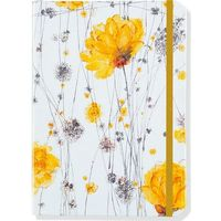 Yellow Flowers Journal, oprawa twarda