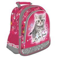 Plecak szkolny My Little Friend Kot CABH Majewski (5903235241536)