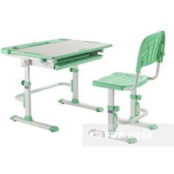 Disa Green - Ergonomiczne, regulowane biurko dziecięce + krzesełko FunDesk - ZŁAP RABAT: KOD30