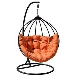 Miloo  :: huśtawka rubicon 110x125x202 cm czarno-pomarańczowa
