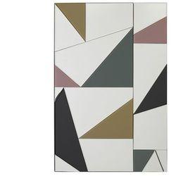 Vente-unique Lustro antonin - 60 × 90 cm - wielokolorowy
