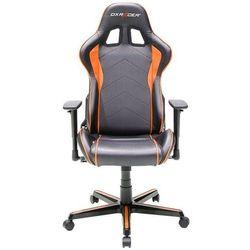 DXRacer krzesło obrotowe Formula FH08/NO, czarne/pomarańczowe (FH08/NO)