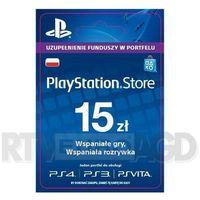 Sony PlayStation Network 15 zł [kod aktywacyjny] (0000006200032)