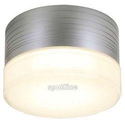 Zewnętrzna lampa ścienna micro flat 229912 spotline sufitowy spot ogrodowy ip44 outdoor okrągła srebrnoszary, marki Spotline - slv