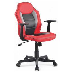 Młodzieżowy fotel obrotowy Nomer - czerwony