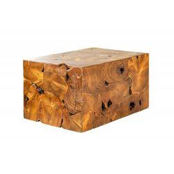 Invicta stolik kawowy square 90 cm - drewno tekowe marki Sofa.pl