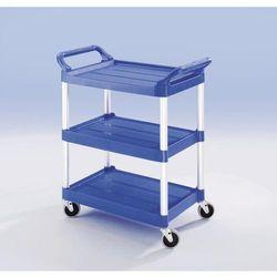 Rubbermaid Uniwersalny wózek serwisowy, nośność całk. 90 kg, dł. x szer. x wys. 860x470x960