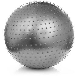 Meteor, piłka fitnes do masażu, 75 cm