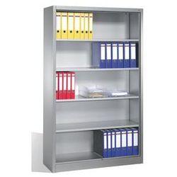 Regał biurowy, stal,4 półki marki Cp