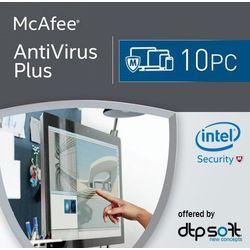 McAfee Antivirus Plus 2017 10 Urządzeń, kup u jednego z partnerów