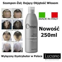 Kmax szampon dający dużą objętość włosom 250ml marki Kmax keratin maximization