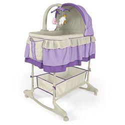 Milly Mally, Sweet Melody Violet, kołyska 4w1 z kategorii łóżeczka i kołyski