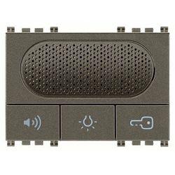 Vimar Domofon due fili z przyciskami funkcyjnymi, metal
