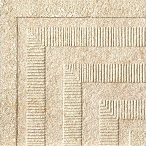 PALACE STONE Angoli Greca Rivestimenti Almond 19,7x19,7 (P-37) - produkt z kategorii- glazura i terakota
