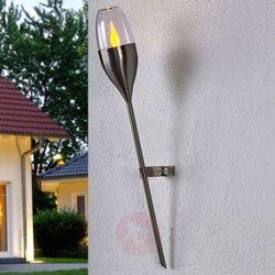 Kinkiet solarny jari z migoczącymi diodami marki Lampenwelt.com